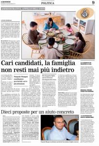 le proposte del Coordinatore provinciale ai candidati a Sindaco di Crotone