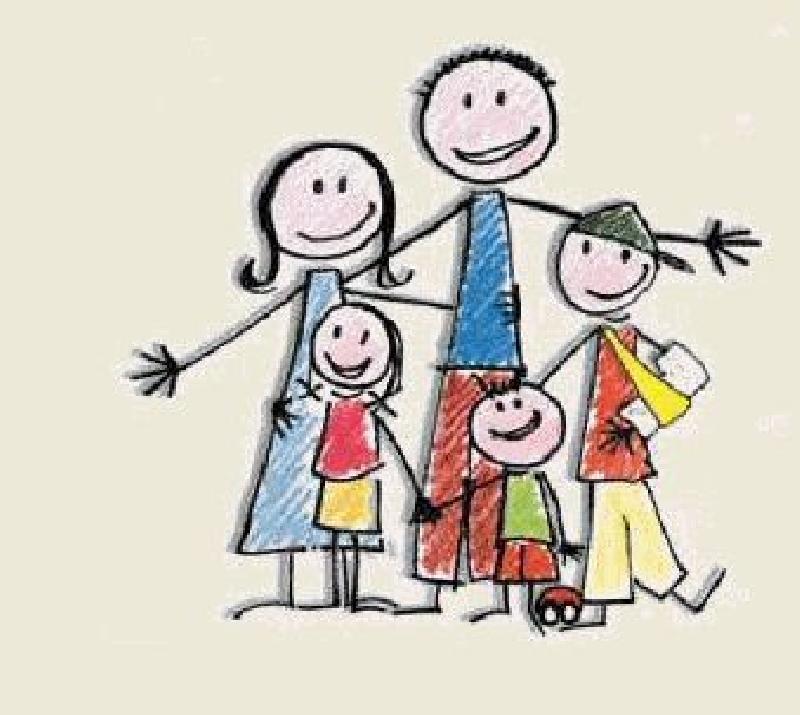 Famiglia Disegno Associazione Nazionale Famiglie Numerose