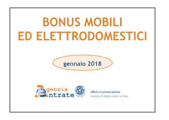 Detrazioni fiscali 2018 seconda parte associazione for Spese arredo immobili ristrutturati