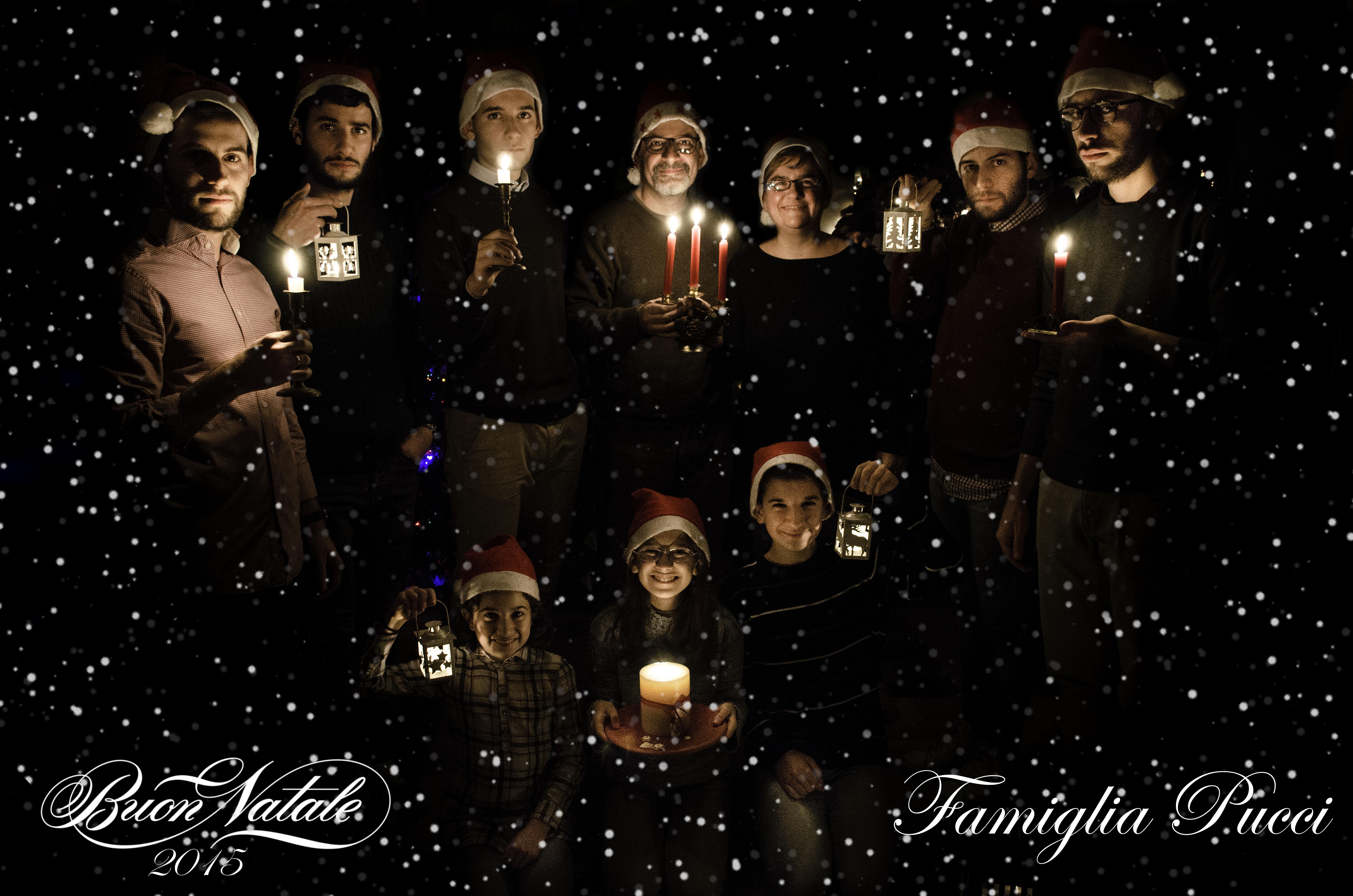 Buon Natale Famiglia.Buon Natale Dalla Famiglia Pucci Associazione Nazionale Famiglie